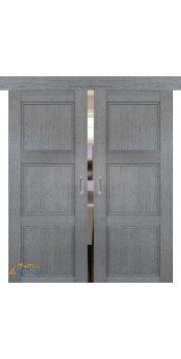 Двойная раздвижная дверь 2.26XN грувд, глухая
