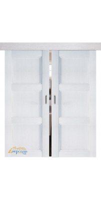 Двойная раздвижная дверь 2.26XN монблан, глухая