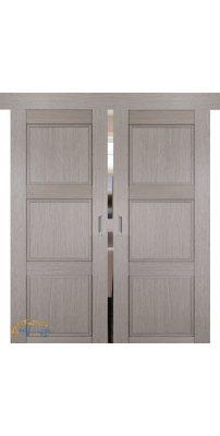 Двойная раздвижная дверь 2.26XN стоун, глухая