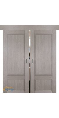 Двойная раздвижная дверь 2.30XN стоун, глухая
