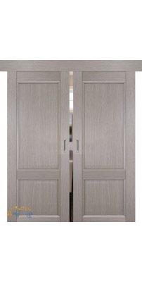 Двойная раздвижная дверь 2.41XN стоун, глухая