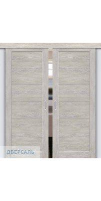 Двойная раздвижная дверь Легно-21 chalet provence