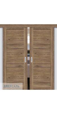 Двойная раздвижная дверь Легно-21 original oak