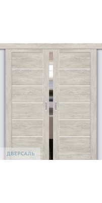 Двойная раздвижная дверь Легно-22 chalet provence/magic fog