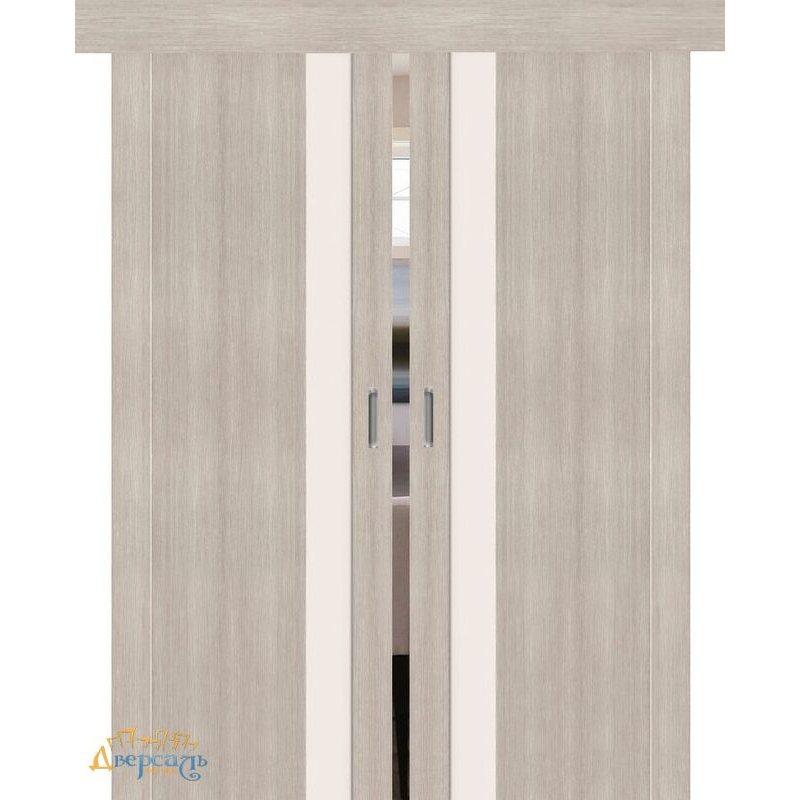 Двойная раздвижная дверь ПОРТА-11 cappuccino veralinga