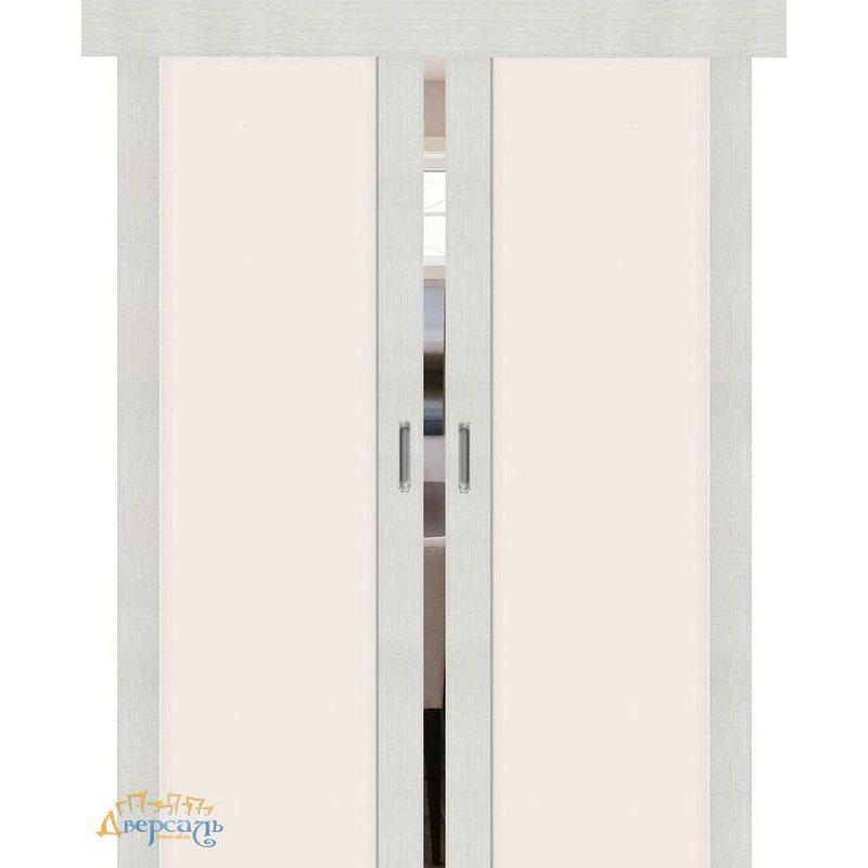 Двойная раздвижная дверь ПОРТА-13 bianco veralinga
