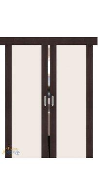 Двойная раздвижная дверь ПОРТА-13 wenge veralinga