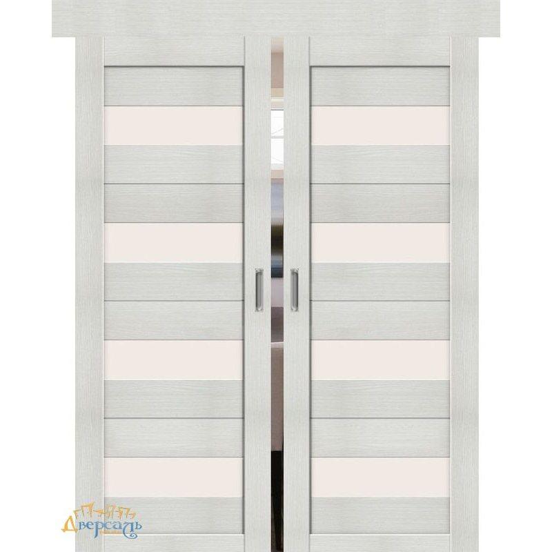 Двойная раздвижная дверь ПОРТА-23 bianco veralinga