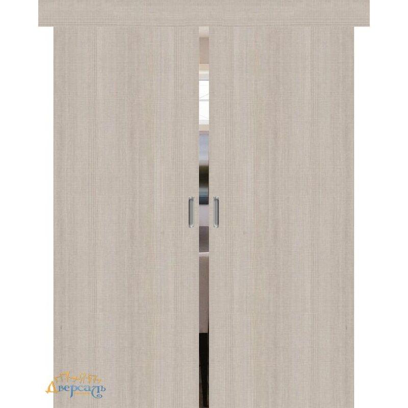 Двойная раздвижная дверь ПОРТА-50 cappuccino crosscut