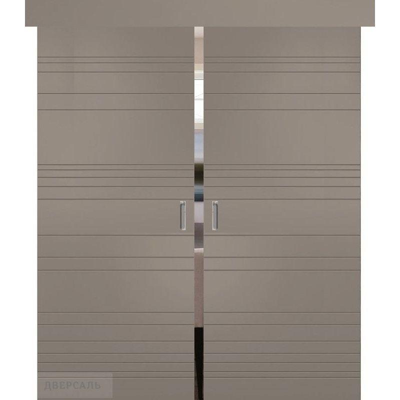 Двойная раздвижная дверь СЕВИЛЬЯ 20 софт мокко