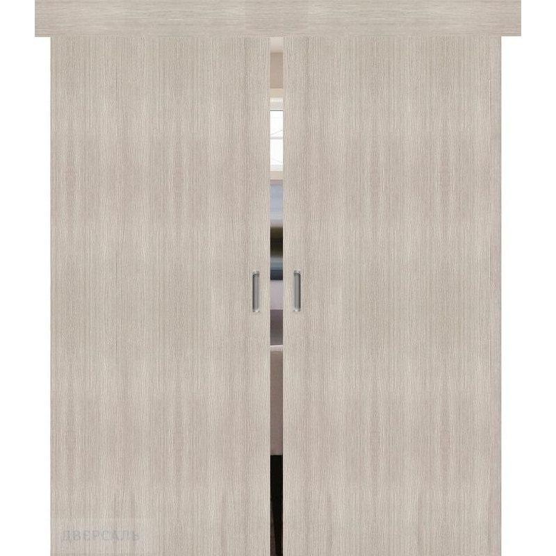 Двойная раздвижная дверь ТРЕНД-0 cappuccino veralinga