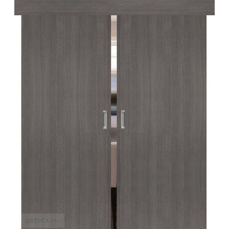 Двойная раздвижная дверь ТРЕНД-0 grey veralinga