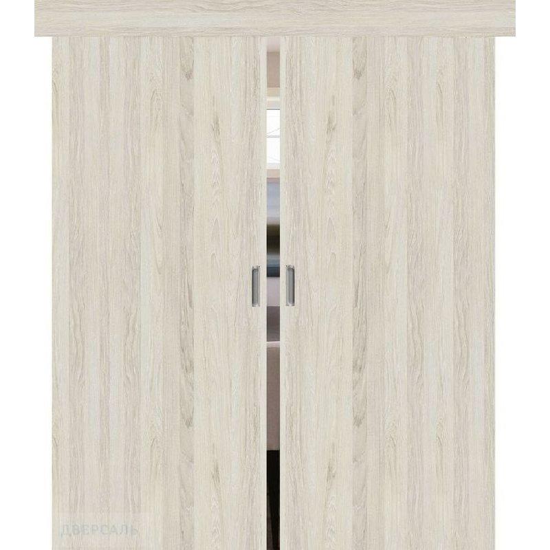 Двойная раздвижная дверь ТРЕНД-0 luce