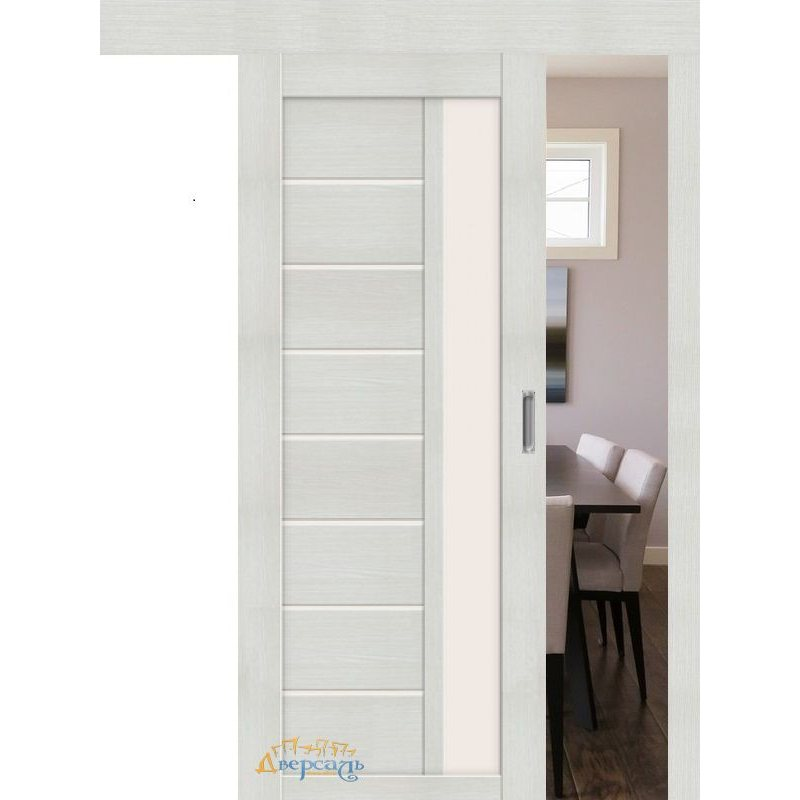 Раздвижная дверь ПОРТА-27 bianco veralinga