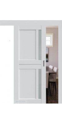 Раздвижная дверь 19U AL аляска, стекло матовое