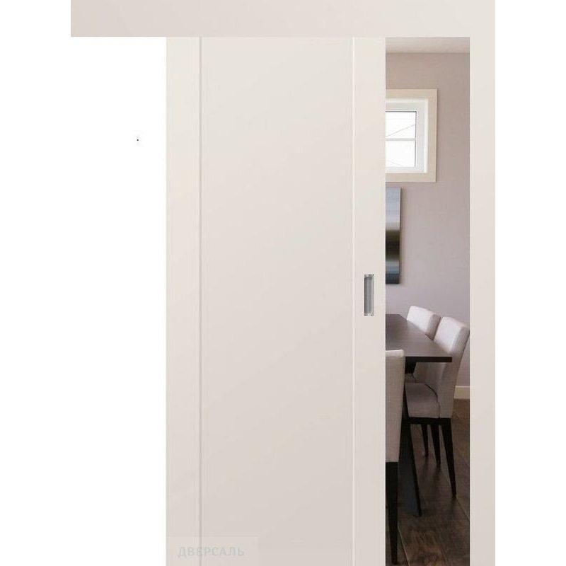 Раздвижная дверь 20U магнолия сатинат