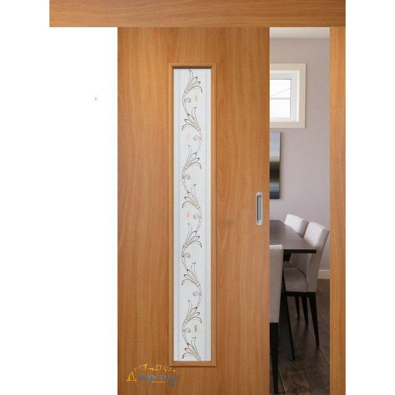 Раздвижная дверь 24Х миланский орех ПО