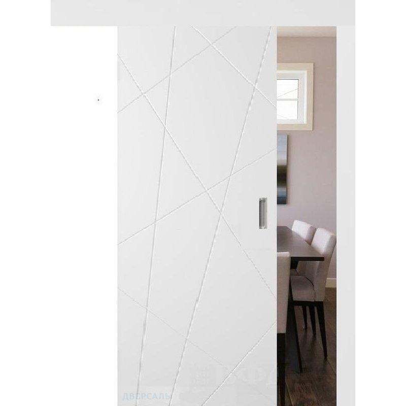 Раздвижная дверь ФЛИТТА белая эмаль ПГ