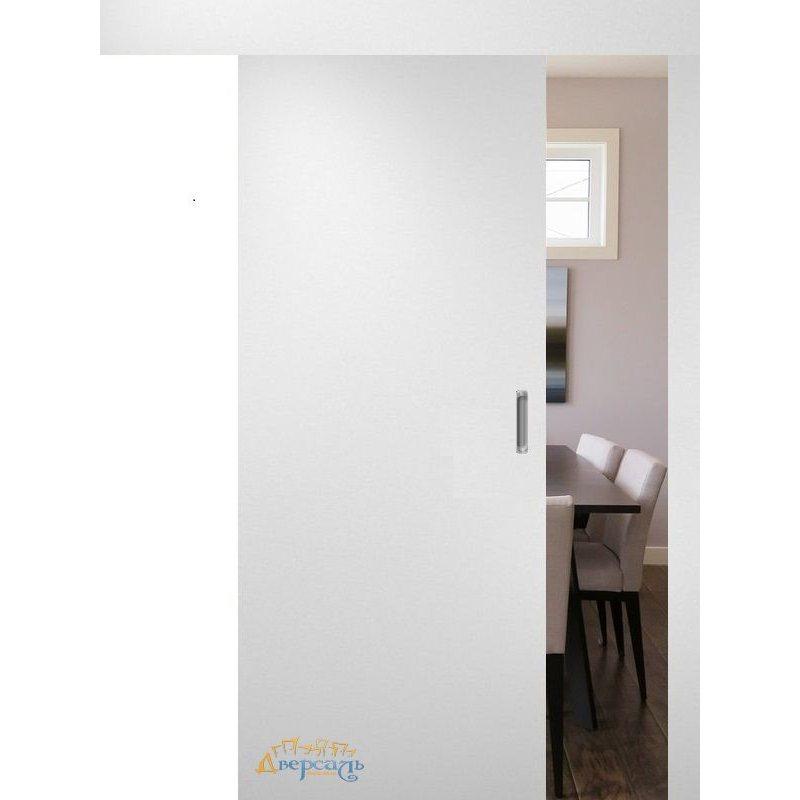 Раздвижная дверь ГЛАДКАЯ белая ПГ