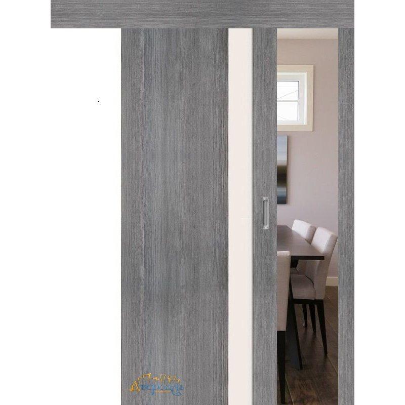 Раздвижная дверь ПОРТА-11 grey veralinga