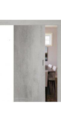 Раздвижная дверь СЕВИЛЬЯ 32 бетон светлый