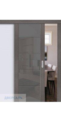 Раздвижная дверь Vetro V4 grey veralinga/smoke