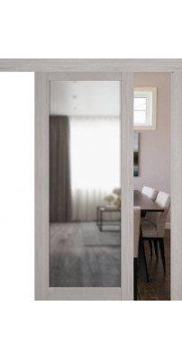 Раздвижная дверь Atum Pro 32 Reflex Stone Oak зеркало