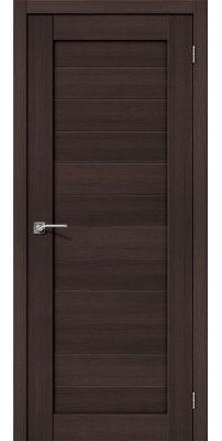 Межкомнатная дверь ПОРТА-21 wenge veralinga