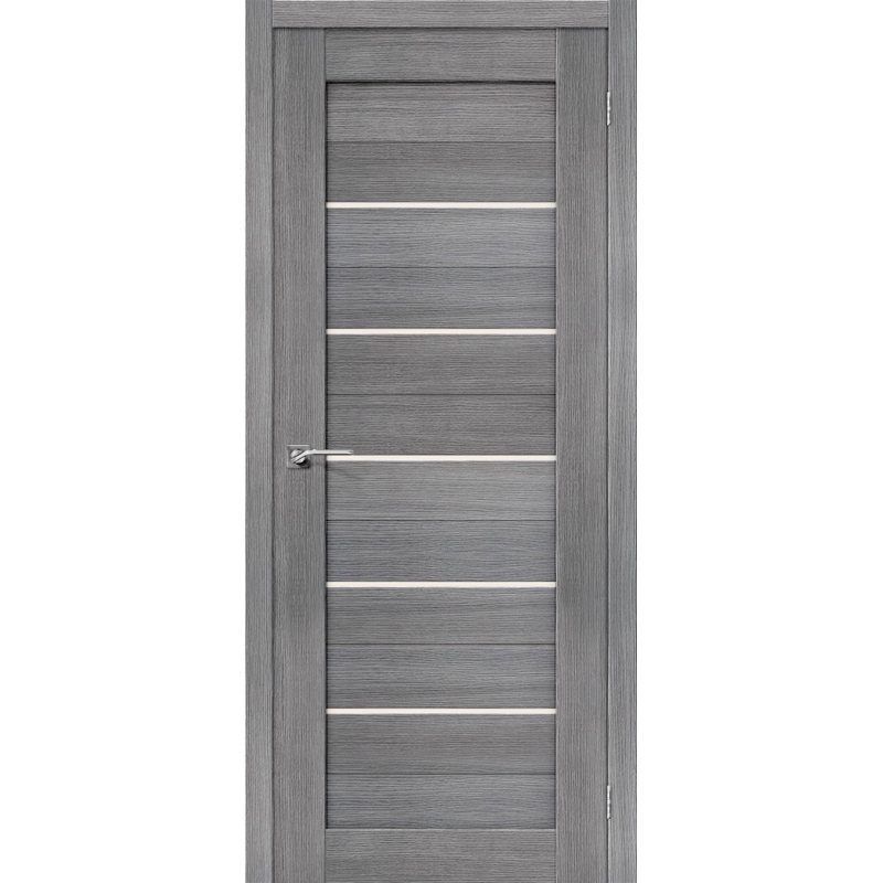 Межкомнатная дверь ПОРТА-22 grey veralinga