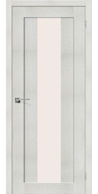 Межкомнатная дверь ПОРТА-25 alu bianco veralinga