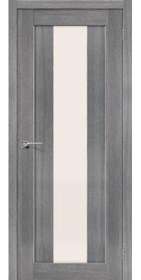 Межкомнатная дверь ПОРТА-25 alu grey veralinga