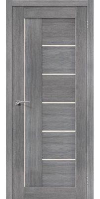 Межкомнатная дверь ПОРТА-29 grey veralinga