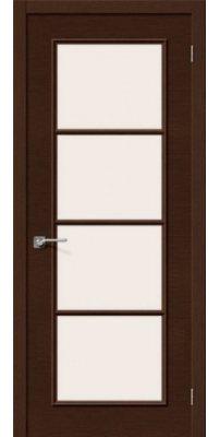 Межкомнатная дверь ЕВРО-41 венге ПО