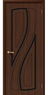 Межкомнатная дверь ЛАГУНА шоколад ПГ