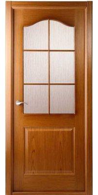 Межкомнатная дверь Капричеза дуб ПО