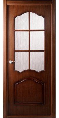 Межкомнатная дверь Каролина орех ПО