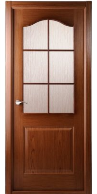 Межкомнатная дверь Капричеза орех ПО