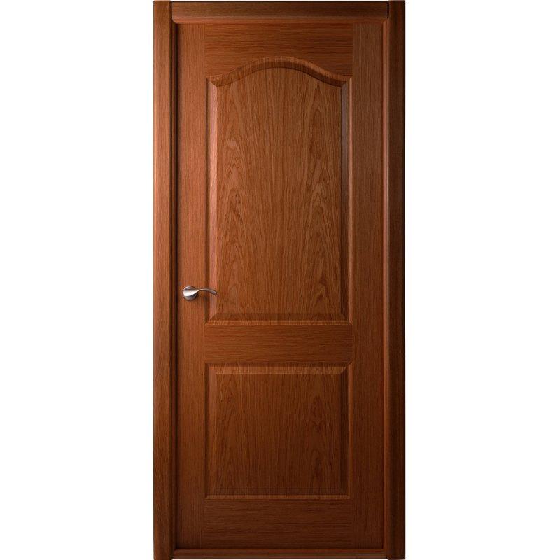 Шпонированные двери цвет орех