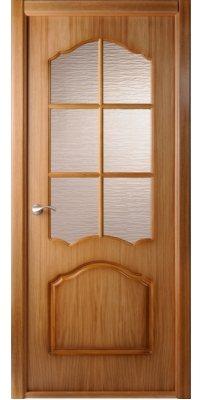Межкомнатная дверь Каролина дуб ПО