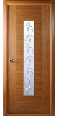 Межкомнатная дверь Классика люкс дуб ПО