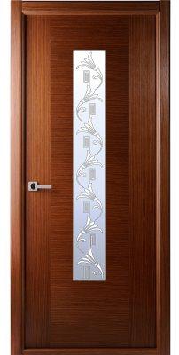 Межкомнатная дверь Классика люкс орех ПО