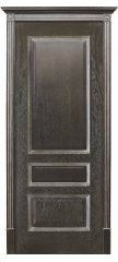 Межкомнатная дверь ВЕНА черная патина (тон 21) ПГ