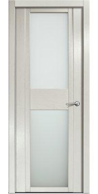 Межкомнатная дверь QDO D ясень жемчуг