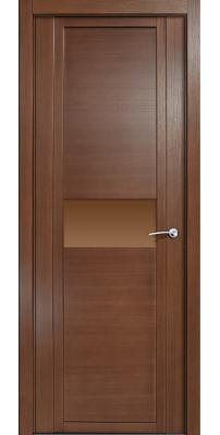 Межкомнатная дверь QDO H дуб палисандр