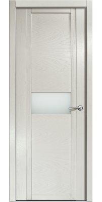 Межкомнатная дверь QDO H ясень жемчуг