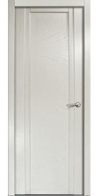 Межкомнатная дверь QDO ясень жемчуг, пг