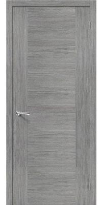 Межкомнатная дверь РОНДО серый дуб ПГ