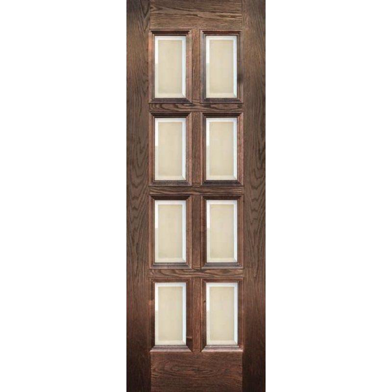Межкомнатная дверь Финестра английский дуб ПО