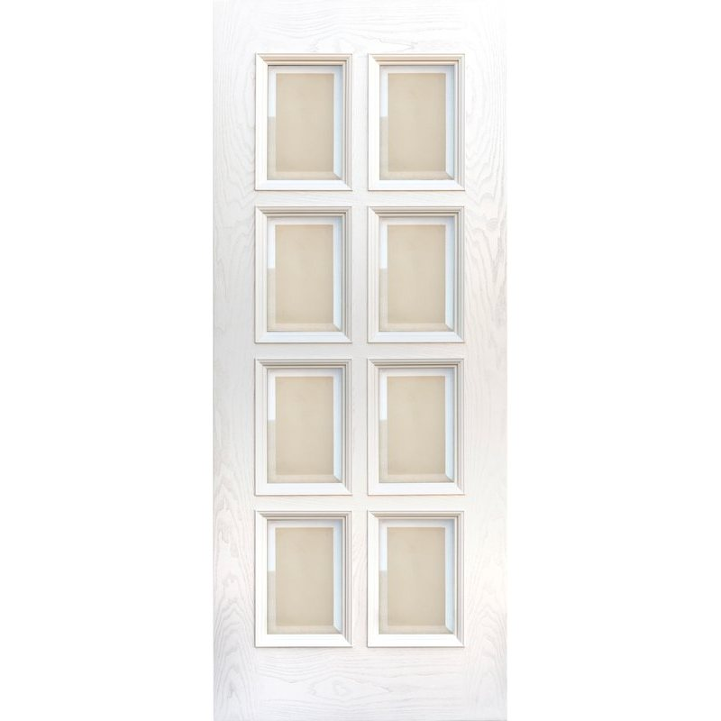 Межкомнатная дверь Финестра ясень карамельный ПО