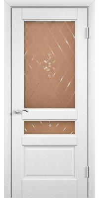 Межкомнатная дверь Готика белый ясень ПО